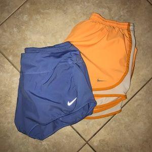 Two Nike Shorts